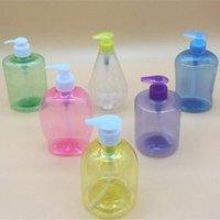 Bottiglie di stoccaggio Vasetti 500ml Bagno in plastica Vuoto Vuoto Soap Empty Soap Schiuma Dispenser a mano Pompa a mano Shampoo Lotion Contenitori detergente Elevata qualità