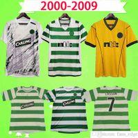 Celtic Ретро Футбол Джерси 2001 2002 2003 2005 2006 2007 2008 2008 Старинные футбольные рубашки Верхняя Униформа 02 03 05 06 Lasson Keane Petrov Balde Sutton