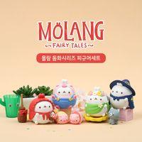 Корейский милый кролик с ограниченной ролью, играя в мини-кукла, как мультфильм фигурки