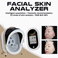 2020 Professionell hudanalysator Smart Skin Scanner Analyzer Magic Mirror Facial Analysis Machine Skin Diagnos System