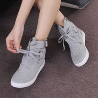 Women Ankle Snow Boots Luxury Trainers Platform Boots Lace Up Sneakers Casual Height Increasing Zip High-TOP Black Shoes 35-41 210611