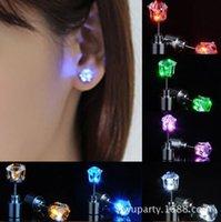 Светодиодный светоизлучающий кольцо ушной студент сладкий циркона корейская версия