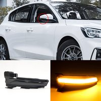 2PCS For Ford Focus 4 MK4 LED Dynamic Turn Signal Blinker Sequential Side Mirror Indicator Light 2019 2020