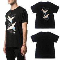 T-shirt da uomo hip-hop stampa lettera maschio o femmina manica corta in cotone girocollo girocollo stilista hip hop abbigliamento alla moda taglia xs-3xl tees estate sciolto