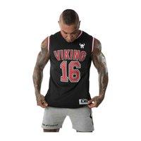 elastique musculation top fitness men mesh tank V-neck jersey gym stringer Mens workout tank s Quick dry vest Running 210618