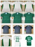 2021 Cezayir Mahrez Futbol Forması Hayranları Oyuncu Sürüm Maillot Cezayir 20 21 ATAL Feghouli Slimani Brahimi Ev Uzakta Bennacer Erkekler Çocuklar Futbol Gömlek