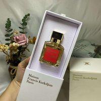 العطر Maison Francis Kurkdjian Baccarat Rouge 540 Extrait de Parfum Neutral Oriental الأزهار العطور 70ML EDP أعلى جودة عالية الأداء