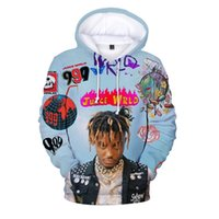 999 Harajuku Sudaderas Sudaderas Sudaderas Sudadera S Pullover S Hip Hop Juice Wrdd Rip Casual Mujeres Hombres Thin Hoodie