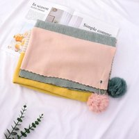 Scarves 2021 Winter Scarf Thicker Women Imitation Cashmere Neck Head Warm For