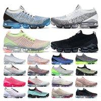 vapormax plus 3.0 plus  erkekler için üçlü siyah beyaz pembe Şarap bayan spor sneakers eğitmenler Nefes vintage moda boyutu 36-44