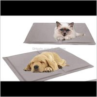 Letti per gatti Mobili Non tossici Pet Cooling Cushion Letto estivo Soft Cool T Casa Cooler Mat Pad Gel 9RFOS UGHEX