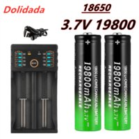 original brand new 18650 rechargeable battery 3.7V 19800 mAh for flashlight USB charger