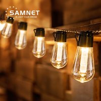 Solar Lamps LED String Lights Outdoor Decoration Light Bulb IP65 Waterproof Patio Lamp Holiday Garland For Vegetable Garden Furniture