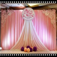 Party Decoration Stage Background Wedding Backdrop Curtain Beautiful Decorations 6m*3m Scene Supplies