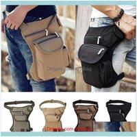 Bags & Outdoorsmen Riding Hiking Chest Running Sports Bag Outdoor Waterproof Tactical Stylish Thigh Waist Belt Pouch Men Leg Bag1 Drop Deliv