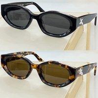 Erkek Bayan Beyaz Güneş Gözlüğü OW40018U Şeffaf Düzensiz Glamorous Çerçeve Moda Klasik Tatil Gözlük UV400 Tasarımcı En Kaliteli 40018 Orijinal Kutusu ile