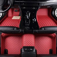 Tapis de plancher de voiture pour Chevrolet New Voile 3 2015 2017 2017 2018 2019 Tapis Accessoires d'intérieur Auto Accessoires en cuir Tampons de pied en cuir Style
