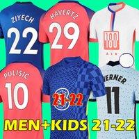 20 21 chelsea camisa de futebol HAVERTZ WERNER chelsea fc soccer jersey 2020 2021 PULISIC CHILWELL ZIYECH ABRAHAM MOUNT KANTÉ LAMPARD football shirt
