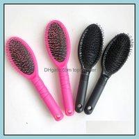 Care Styling ProductShaver Grzebień Ludzki Włosy Rozszerzenia Narzędzia do Peruki Pucharu Weft Pędzle w Makeup Black Color Drop Dostawa 2021 4B1CE