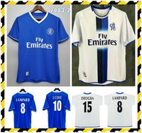 Retro 2003 2004 2005 Soccer Jersey Classic Vintage 03 04 05 Voetbalhirt Gudjohnsen Cole Robben Zola Hasselbaint Geremi Lampard Drogba