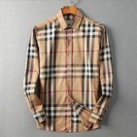 2021 lüks tasarımcı erkek gömlek moda rahat iş sosyal ve kokteyl gömlek marka bahar sonbahar zayıflama en moda giyim M-3XL # 02