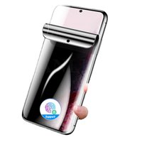 3D Curved Anti Spy Hydrogel Screen Protector para Samsung Galaxy S21 + Nota 20 Ultra Note10 S10 S10 S8 S8 Plus Privacidade Anti-Peep