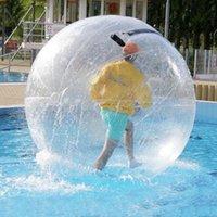 Outdoortoy 1.2 متر المياه المشي الكرة pvc نفخ الرقص مع استيراد / سستة عادية للحمام سباحة تعويم الكرات