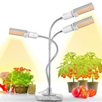 Full Spectrum 3 Head LED Grow Light Growth Phyto Lamp Growing Lights indoor Plants greenhouse Growing USB timer Clip room