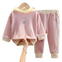 2pcs Fashion Girls Vêtements imprimés Ensemble Classic conçu Vêtements de tourisme pour enfants 1-5Years Kids Costume Ensembles de costumes