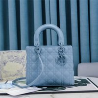 Designers Womens Bolsas Bolsas Minha Senhora Cannage 2way Ombro Ultra Matte Bag Lambskin Couro Couro M0565 Tamanho: 24 x 20 x 11cm