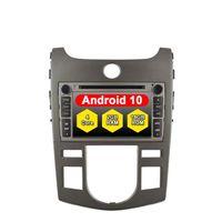 لاعب الروبوت 10.0 لكيا شوما فورتي سيراتو كوب 2008-2011 ميكروفون خارجي سيارة دي في دي السيارات GPS مركزي الوسائط المتعددة