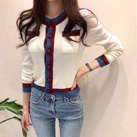 Casual Dresses Fashionn Women Cardigan Sweater Korean Single Breasted Long Sleeve Knitted Jacket Soft Autumn White Female Jumper J