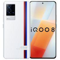 "Original Vivo IQOO 8 5G Mobile Phone 12GB RAM 256GB ROM Snapdragon 888 Octa Core 48.0MP AR OTG NFC Android 6.56"" AMOLED Full Screen Fingerprint ID Face Wake Smart Cell Phone"
