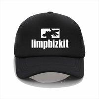 Moda Şapkalar Limp Bizkit Logo Beyzbol Şapkası Erkek Kadın Yaz Mesh Trucker BeyzbolCap Boys