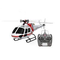 Wltoys XK K123 Brushless RC Airplane Drone AS350 Escala 3D / 6D Modo 6CH Sistema RC Helicóptero RTF Compatível com Futaba S-Fhss Brinquedos