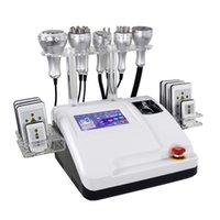 Portable 8 in 1 ultrasonic cavitation lipolaser slimming machine Body Shaping fat Loss Facial Lifting 40k RF Vacuum laser pads Beauty Equipment