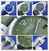 2021 high quality  business  watches man marina luminor joker sports boss 2555 movement wristwatches pam eSTEEL mens watch D1900