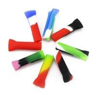 Курение силиконовые мундштук многоразовый фильтр рта подсказки несколько цветов аксессуары инструмент для кальянов стеклянные водяные бонги шланг Шланг Shisha