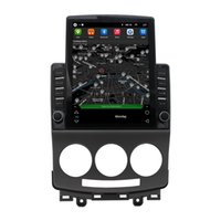 Car Dvd Multimedia Wifi Mp5 GPS Player with 9.7 Inch Vertical Screen Radio for Mazda 5 2005-2010