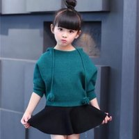 Designer children's clothing 2016 Spring autumn girls set floral kids suit casual two-piece sport for girl track children