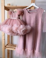 Girl's Dresses Flower Girl For Wedding Ball Gown Kids Pageant Gowns Custom Made Birthday Party Dress Christmas