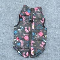Dog Apparel Padded Jacket Pet Cartoon Cute Coat Cat Winter Cloth Warm Vest Clothes Vestiti Chihuahua 20D23