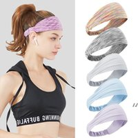 Absorption Sweat Yoga Headband High Elastic Band Hair Styling Accessories Men and women Sports Effects Headbands AHB7089