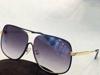 Summer Sunglasses For Men and Women style 0841 Anti-Ultraviolet Retro Oval Rectangular Metal Full frame fashion Eyeglasses Random Box