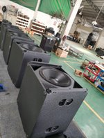 Tasso audio video outdoor speakers dual 10 inch crossover 3 way audio live show line array pa sound system