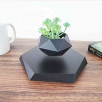 Flotante Magnético Levitating Flower Bonsai Air Plant Planter Potted for Home Office Decor Decor Creative Regalo