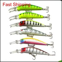 Baits Sports & Outdoors Drop Delivery 2021 6 Colors 14Dot5Cm 14Dot7G Big Game Lures Plastic Hard Bait Fishing Tackle Pesca Fish Wobbler Minno