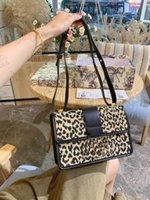30 montaigne leopardo grão designer bobby hobo saddle saco azul oblíqua jacquard lona médio mulheres luxurys bolsas de ombro bolsas crossbody