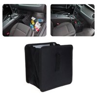 Car Organizer Garbage Can Trash Hanging Bag Oxford Rubbish Organizers Storage Mini Bin Dust Case Holder