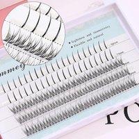False Eyelashes Soft Natural Individual Lashes Mix Volume Fairy A Shape Fish Extension Pre Fan Eyelash Tools Whosale